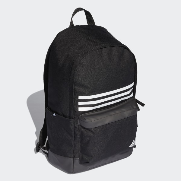 971c5a2c5d29 Classic 3-Stripes Pocket Backpack Black   Black   White DT2616