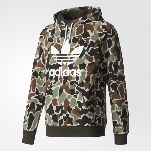 6f2d63e92359a adidas Sudadera Camouflage Trefoil - Multicolor