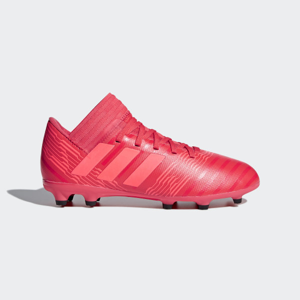 new concept 4d02d fb826 Chaussure Nemeziz 17.3 Terrain souple Real Coral   Red Zest   Core Black  CP9166