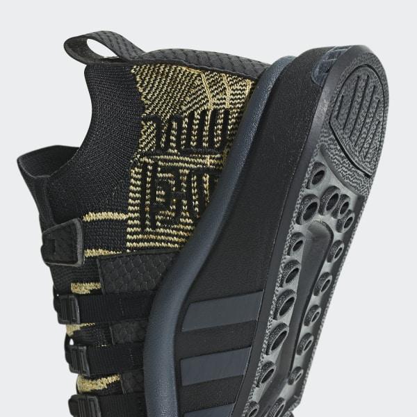 buy popular fdd9a a5faf Dragonball Z EQT Support Mid ADV Primeknit Schoenen Core Black  Core Black   Gold Met
