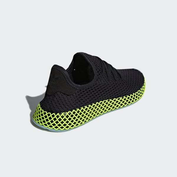 sports shoes f1f20 583e3 Deerupt Runner Shoes Core Black  Core Black  Ash Blue B41755