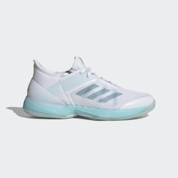 huge selection of 994d3 5193e Adizero Ubersonic 3 x Parley Blue Spirit  Cloud White  Cloud White CG6443