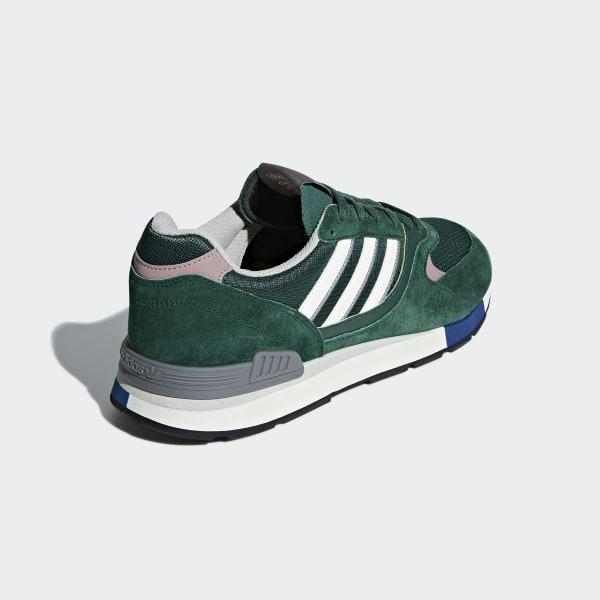 3024dd1d664 Quesence Shoes Collegiate Green   Noble Green   Chalk White B37851