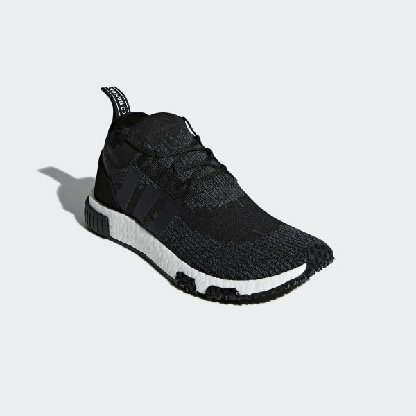15aa976618bbe NMD Racer Primeknit Shoes Core Black   Grey Five   Ftwr White AQ0949