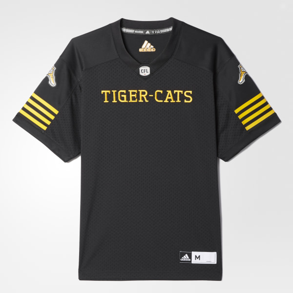 adidas Tiger-Cats Home Jersey - Black  f6465876e