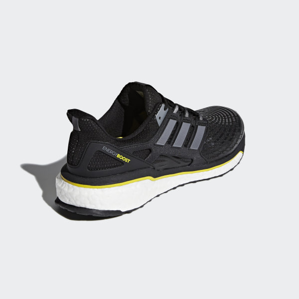 online store 8a530 37cd8 Energy Boost Shoes Core Black  Night Metallic  Vivid Yellow CQ1762