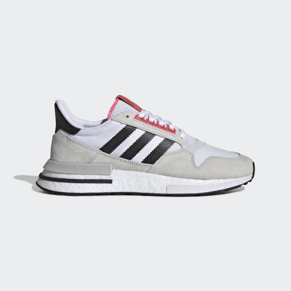 sneakers for cheap 6ec66 be534 Tenis ZX 500 RM Ftwr White   Core Black   Shock Red G27577