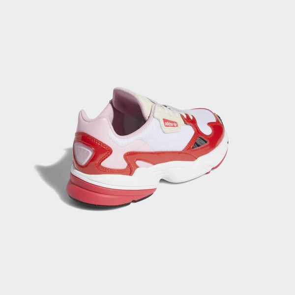 cheap for discount 9a70e 67b4e Falcon Shoes Crystal White  Active Red  Shock Red EE3830