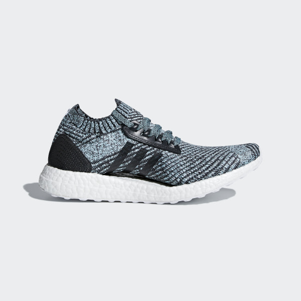 32d7d85230b3e Ultraboost X Parley Shoes Carbon   Carbon   Blue Spirit DB0641