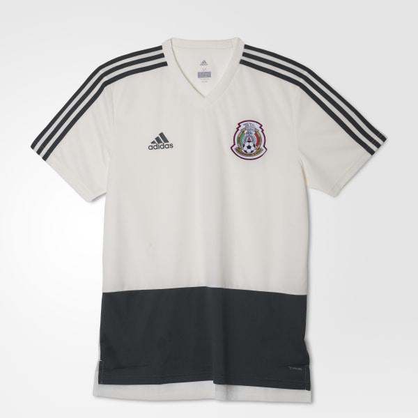 922f11ae80245 Jersey de Entrenamiento Selección de México 2018 OFF WHITE UTILITY IVY F16  CF0516