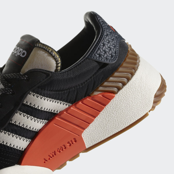 0104ac9c4 adidas Originals by Alexander Wang Turnout Trainer Shoes Core Black Chalk  White Bold Orange