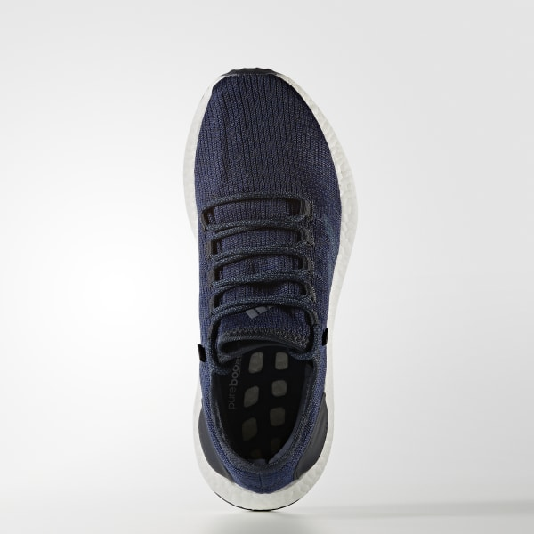 pretty nice 8e731 0f794 Pure Boost Shoes Night Navy   Core Blue   Mystery Blue BA8898
