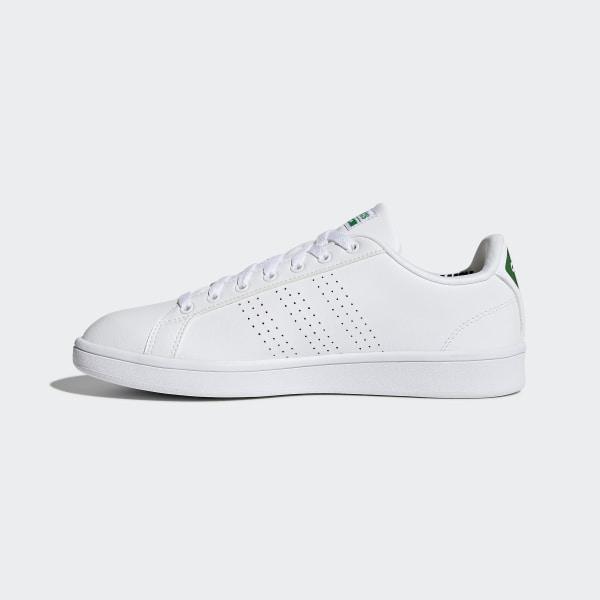 new products a5d57 e335d Cloudfoam Advantage Clean Shoes Cloud White  Cloud White  Green AW3914