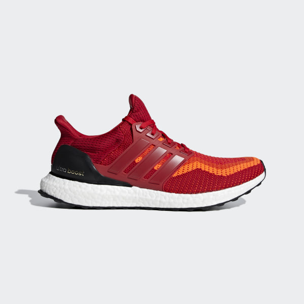 4231e67583aaa Ultra Boost Shoes Solar Red   Power Red   Core Black AQ4006