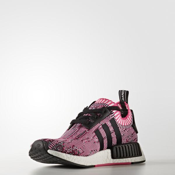 8f3d465c3b5f2 NMD R1 Shoes Shock Pink   Core Black   Footwear White BB2363