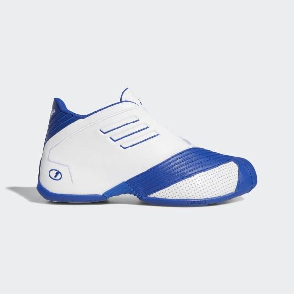 0f9f34ab69b51 T-Mac 1 Shoes Ftwr White   Collegiate Royal   Ftwr White EE6844