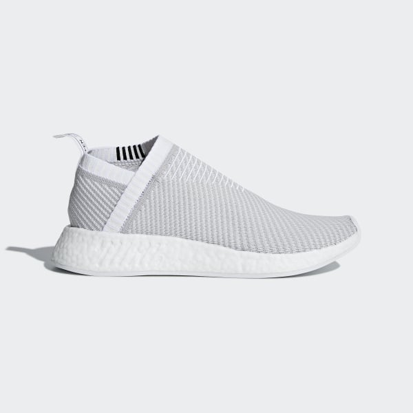 f90c79bb9 NMD CS2 Primeknit Shoes Cloud White   Grey Two   Core Black D96743