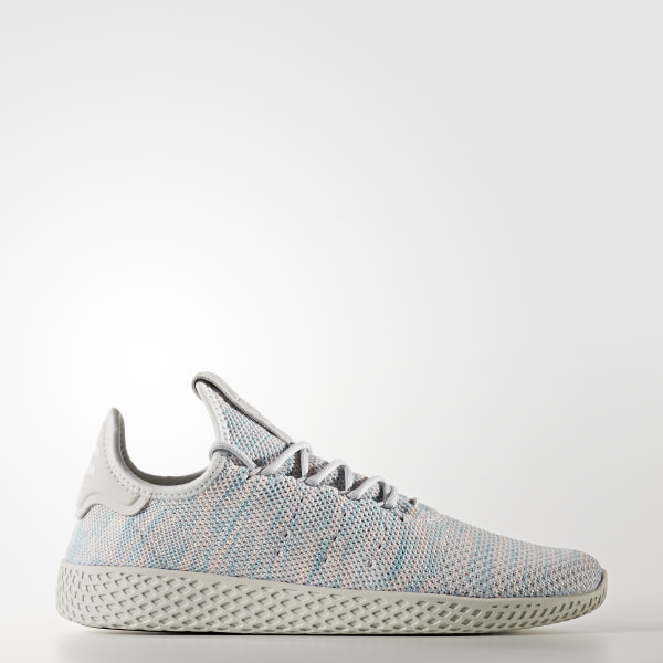 244364677 Pharrell Williams Tennis Hu Shoes Noble Ink   Semi Frozen Yellow   Core  Black BY2671