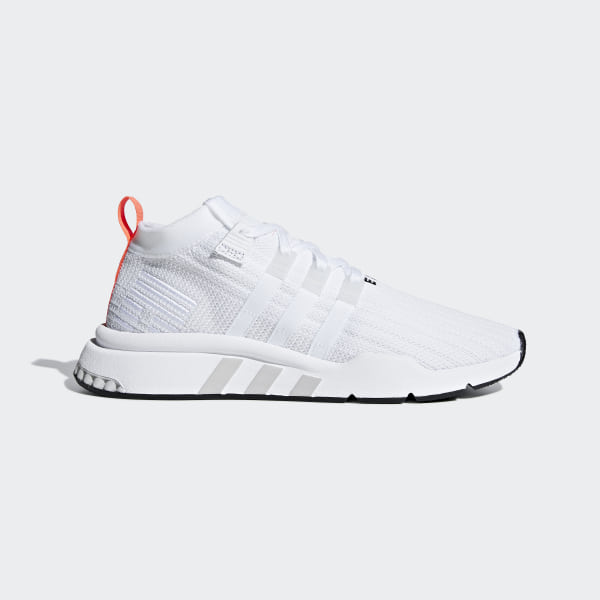 online store b31b4 82573 EQT Support Mid ADV Primeknit Shoes Cloud White  Grey One  Core Black  B28133