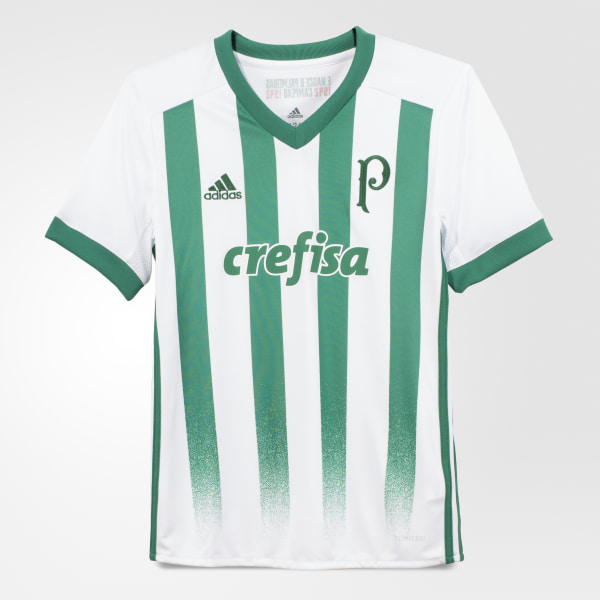 22f8bae1153fa Camisa Palmeiras 2 Infantil WHITE BOLD GREEN BK7511