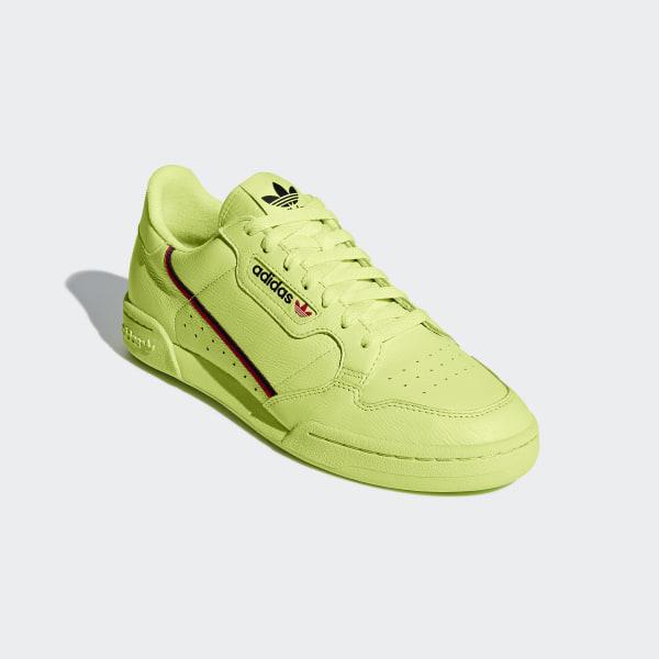 watch e8f5b 8f351 Continental 80 Shoes Semi Frozen Yellow  Scarlet  Collegiate Navy B41675