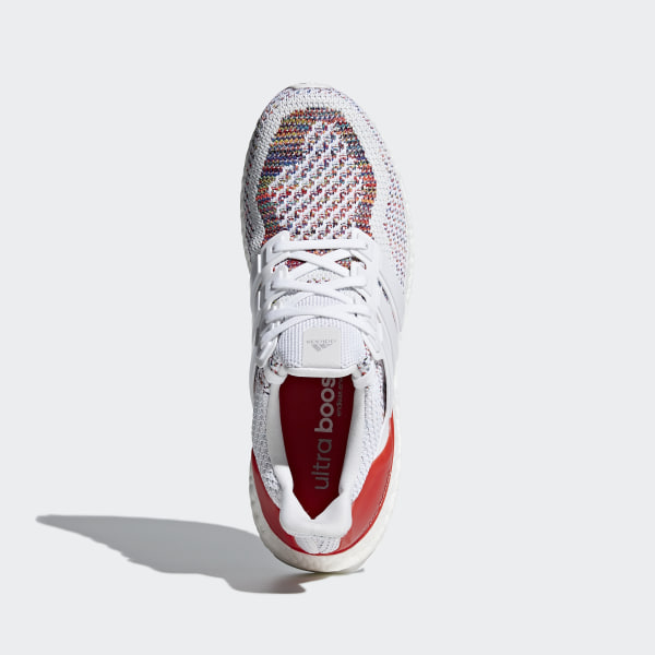 35c963c98ce9d ULTRABOOST Shoes Cloud White   Cloud White   Red BB3911