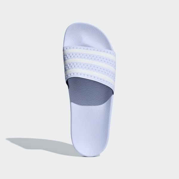 2e53a16efa52 Adilette Slides Aero Blue   Cloud White   Aero Blue AQ1068
