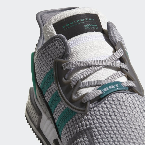brand new 1531b 6bf47 EQT Cushion ADV Shoes Grey TwoSub GreenFtwr White AH2232