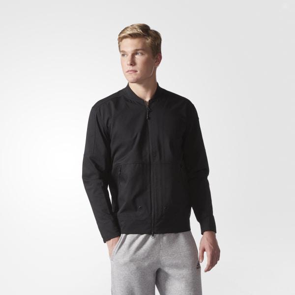 ed2631f0b34f adidas Sport ID Twill Bomber Jacket - Black