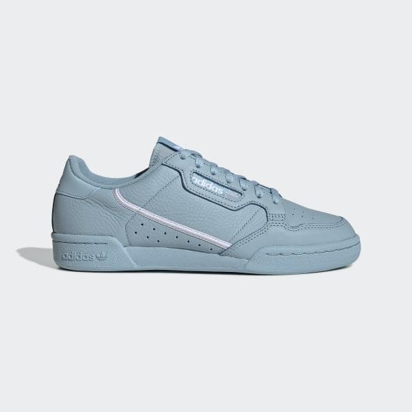 19856fdbeb0 Continental 80 Shoes Ash Grey   Silver Metallic   Cloud White EE4145