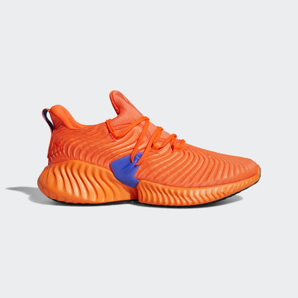 5663083b9eb9b Alphabounce Instinct Shoes Solar Red   Hi-Res Orange   Hi-Res Blue BB7507