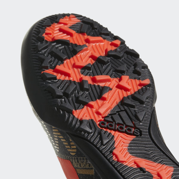 fa3f1c814b32 Nemeziz Messi Tango 17.3 Turf Boots Core Black Solar Red Tactile Gold Met.