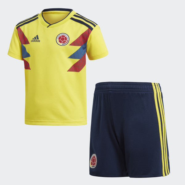 48ac2e86cf959 Mini Uniforme Selección Colombia Local 2018 BRIGHT YELLOW COLLEGIATE NAVY  COLLEGIATE NAVY BRIGHT YELLOW