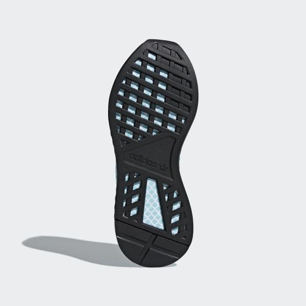 111383344 Deerupt Runner Parley Shoes Cloud White   Cloud White   Blue Spirit CQ2908