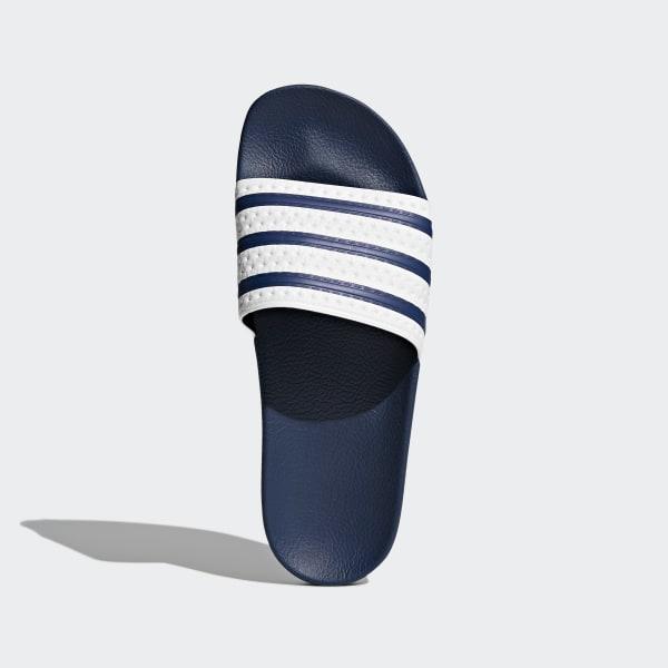 c1bd0d3c7eb1b Adilette Slides adiblue   White   Adi Blue G16220