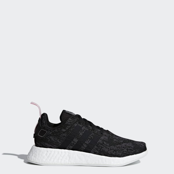 NMD R2 Shoes Core Black   Core Black   Wonder Pink BY9314 39ea664410