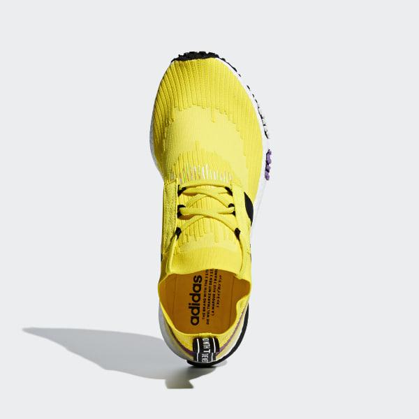 e45cf2882 NMD Racer Primeknit Shoes Solar Yellow   Core Black   Shock Purple B37641