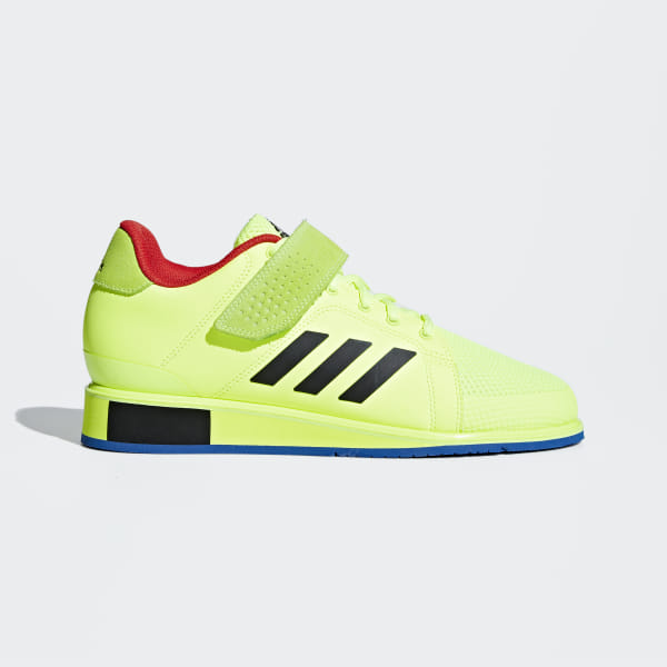 7407c01cb13f Power Perfect 3 Shoes Hi-Res Yellow   Core Black   Blue BD7157