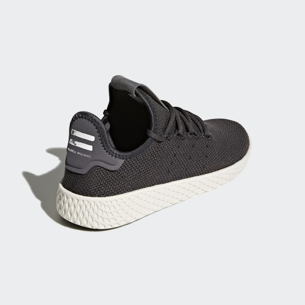 4260670f568585 Pharrell Williams Tennis Hu Shoes Carbon Carbon Chalk White CQ2297