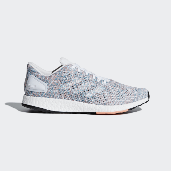 50d87cccf5be Pureboost DPR Shoes Grey   Ftwr White   Chalk Coral B75670