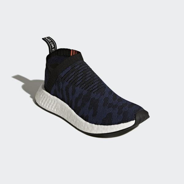 d888312861a39 NMD CS2 Primeknit Shoes Core Black   Noble Indigo   Ftwr White CQ2038