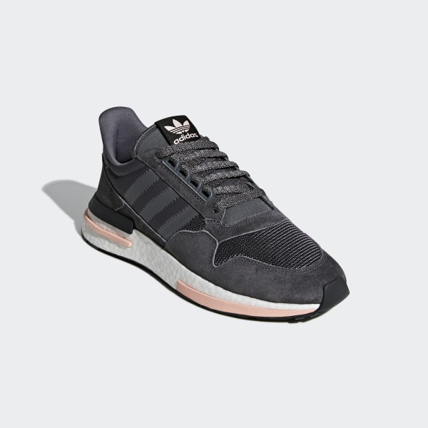 c80c7742573a ZX 500 RM Shoes Grey   Cloud White   Clear Orange B42217