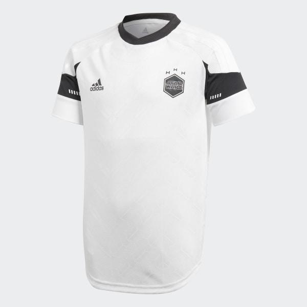 Camiseta Futebol Star Wars WHITE BLACK GREY ONE F17 CV5986 ad9ede047cf5c