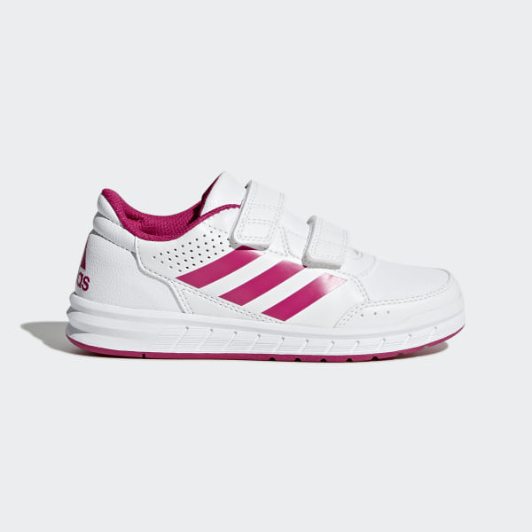 sports shoes e0ad3 9376d AltaSport Shoes Footwear White Bold Pink BA9450