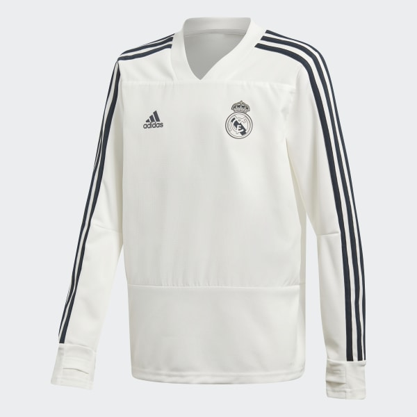 04f791c834e26 Sudadera entrenamiento Real Madrid Core White   Tech Onix CW8665
