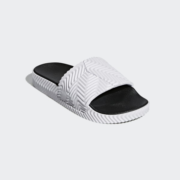 7f0ca5887b91 adidas Originals by Alexander Wang Adilette Slides Ftwr White Ftwr  White Core Black D97932