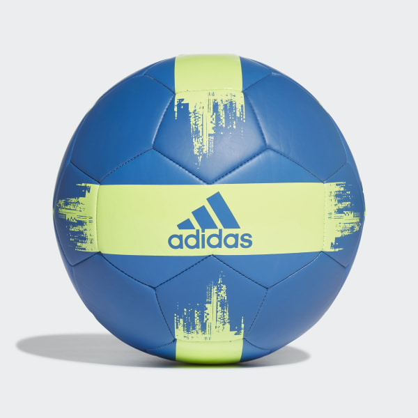 Pelota de Fútbol EPP 2 true blue   hi-res yellow DN8715 8f115320311a9