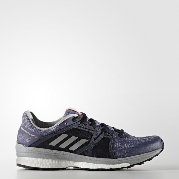 100% authentic ba166 cf30d Supernova Sequence 9-sko Super PurpleSilver MetallicMid Grey BB1617