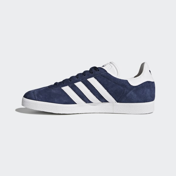 online retailer 574c5 259ea Gazelle Shoes Collegiate Navy  White  Gold Metallic BB5478