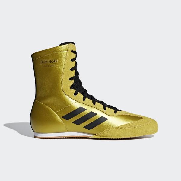 6a8c0673422 Box Hog x Special Shoes Gold Met.   Core Black   Ftwr White BC0355